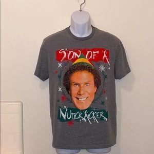 """Men's The Elf """"Son of a Nutcracker"""" Holiday Tee"""